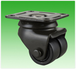 2 Inch Nylon China Dual wheel Casters for Manufacturing