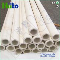 [HUTO CERATRIC] China manufacturer 75% Al2O3 Alumina kiln roller for ceramic tiles