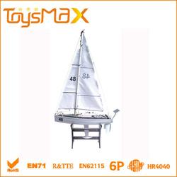 Hot sales transatlantic racing big RC sailboat toy
