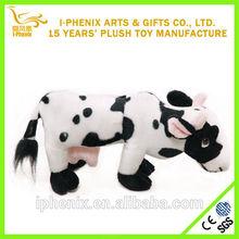 Stuffed Black And White Cow Plush Toys Wholesale Stuffed Animals