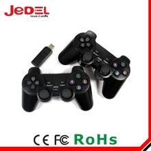 2014 new PS PC gamepad twin USB 2.4g wireless usb gamepad for pc