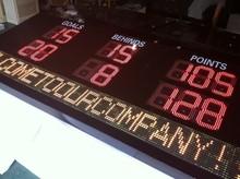 Australia Type Digital Football Scoreboard with scrolling message