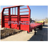 2-axle 40ft flatbed container truck semi trailer /container chassis semi trailer