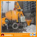 la mayoría popular eléctrico mezclador de concreto hidráulico de la bomba