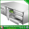 Desenho de geladeira, cad desenho de cozinhas comerciais, gavetas frigorífico