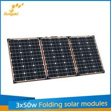 foldable solar panel portable kit for 12V portable solar system