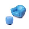 Sofa With Footrest,European Style Sofa.Single Sofa Chair