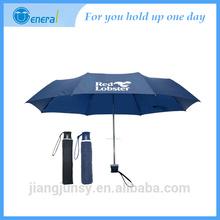 2015 new models of Latest style 3 fold promotion umbrella