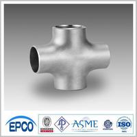 ANSI Steel Pipe Fitting Stainless Steel Pipe Cross Tee