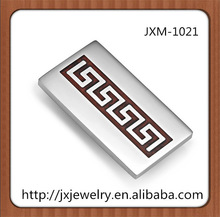 high polish stainless steel wallet money clip