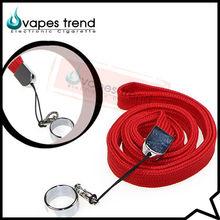 Electronic Cigarette Cheap Custom Lanyards Woven Lanyard Rhinestone Lanyard For Ecig