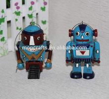 Polystone/resin/polyresin robot figure crafts, robot hanging ornament