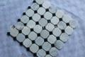 non slip mármore mosaico casa de banho telha para a arábia mercado