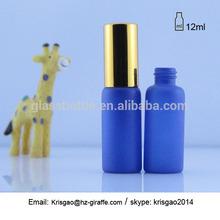 Sm14-2257 12 ml de vidrio azul botella de perfume de la decoración