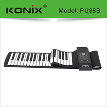 88 KEY Professional Flexible Roll Up Midi Electronic Piano Silicon Keyboard