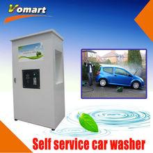 1.6KW 80 bar Auotmatic Coin/card operated car wash self-service machine/high pressure self-service pressure washer hot water