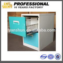 China manufacturer school furniture metal display pine filing cabinet 2 drawer