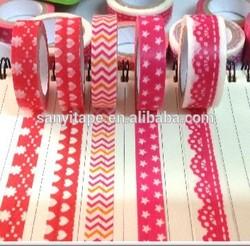 Economy Grade non-critical applications design masking tape washy tape