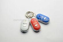 Beeping Alarm Remote 30M LED Key Receiver Finder Seeker Locator Keychain Keyring