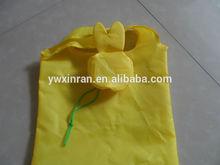 yellow foldable favor shape shopping bag