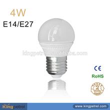 Hot Product Low Cost 4W E14/E27 CE RoHS Certified led lighting Led Bulb E27