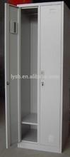 Knock Down 2 door custom metal office furniture lockers