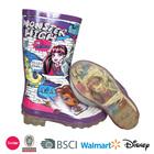 factory wholesale cheap kids rubber rain boots custom printing