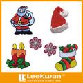 Stickerei heißer verkauf cartoon weihnachtsbaum/weihnachtsmann/ornament patch applique