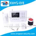 Rete dual kit sistema di allarme gsm, casa senza fili di sicurezza intelligente e protezione di allarme gsm