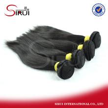 Full cuticle 6A Natural Color high quality cheap brazilian human hair extension curl straight hair men