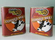 340g Canned Corned Beef in Trapezoind Tin canned beef