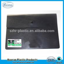 Top design PVC plastic waterproof document bag