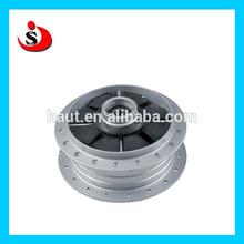Chinese motorcycle Aluminum wheel accessory / spare part alloy aluminum wheel hub