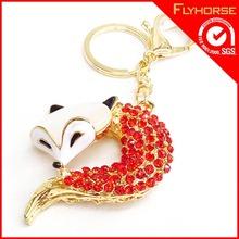 Wholesale Promotional Custom Design Mobile phone Metal Key Chain