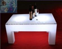 Big KTV led table long square tea table 1.2Meter table