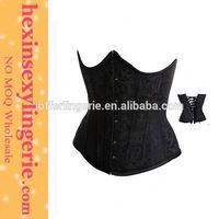 New arrival fashion sexy black open hot sex women photo corset