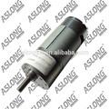 Profesional aslong jgb37-550 engranaje de la cc del motor 12v 10 rpm de alta potencia del motor eléctrico