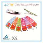 plastic snap hair clip tic tac