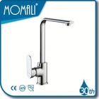 Single handle brass water tap for kitchen