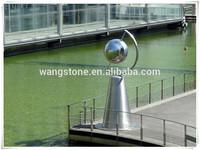India top decorative garden globe ball stainless steel handicraft