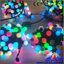 waterproof holiday Outdoor christmas RGBW led string light