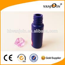 Purple 20ml Air Tight Plastic Medicine Bottle