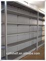 Luz dever prateleira de armazenamento de metal para armazém
