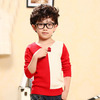Tbc16008 Boy's knitted sweater children's autumn Korean the newest 2014 fashion pullover sweater