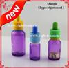 colored glass bottles sale child resistant tamper dripper cap glass bottle