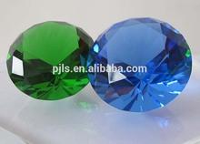 Decoration Gift Blue Crystal Diamond/clear single diamond cut crystal