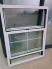 Aluminum vertical sliding window and double hung sliding window of American style color window