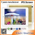 Venta caliente 7.85 rk pulgadas tabletas 3188 1gb/4gb ips 1024*768 hdmi apoyo núcleo cuádruple wifi mid de color rosa