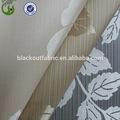 100% de poliéster tela blackout jacquard tela de la cortina