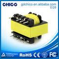ei28 forte capacité de charge faible courant de repos ac transformateur de puissance